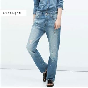 Size 2 Zara Jeans Relaxed Fit